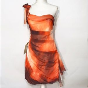 Light in the Box Orange Special Occasion Dress